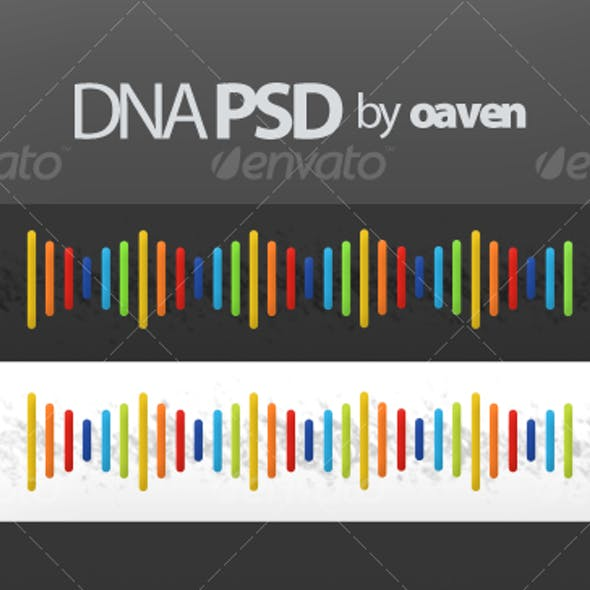 DNA Graphic (PSD)