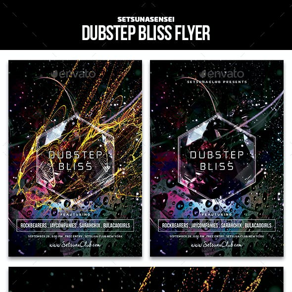 Dubstep Bliss Flyer