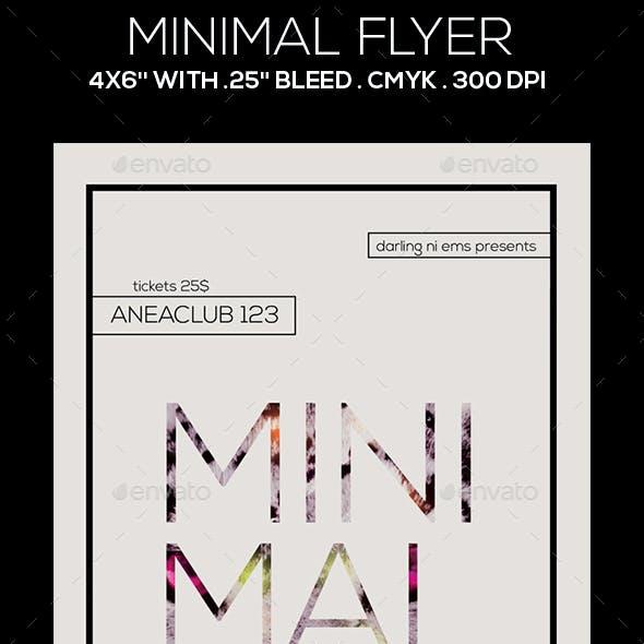 Minimal Flyer
