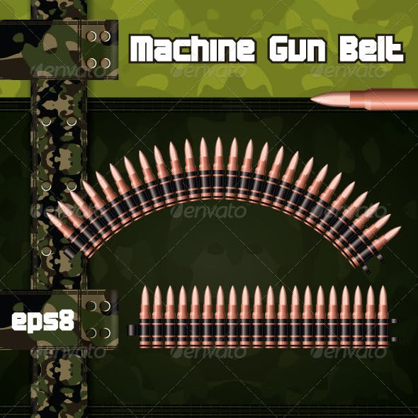 Machine gun belts.