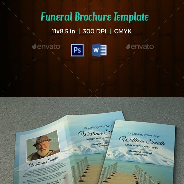 Funeral Program Template-V61