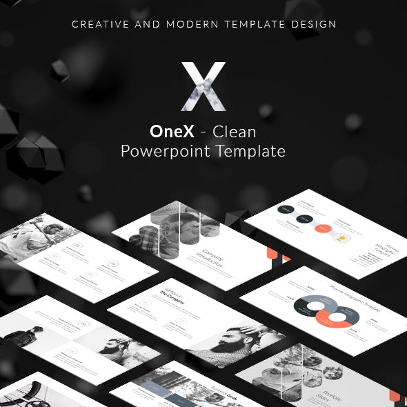 OneX - Clean Powerpoint Template