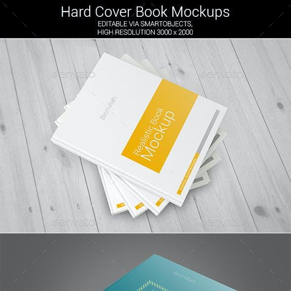 Hard Cover Book Mockups