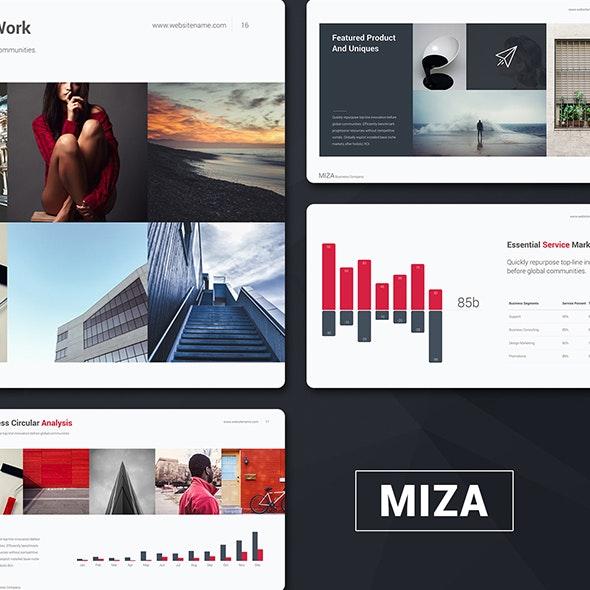 Miza Business Template - Business Keynote Templates