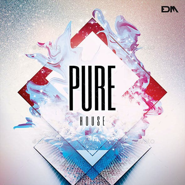 Pure House CD Cover Artwork