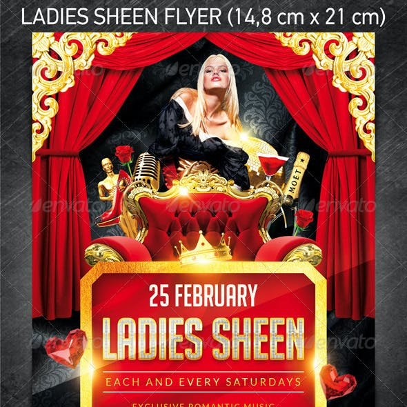 Ladies Sheen Flyer