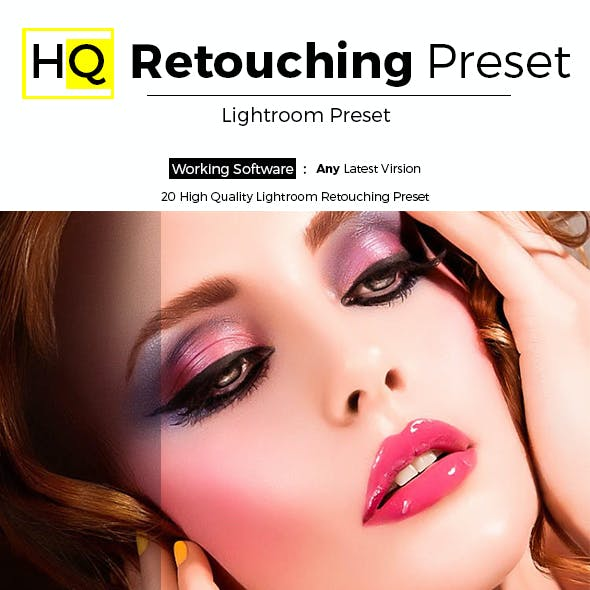 20 HQ Retouching Preset