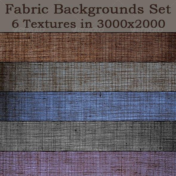 Fabric Backgrounds Set