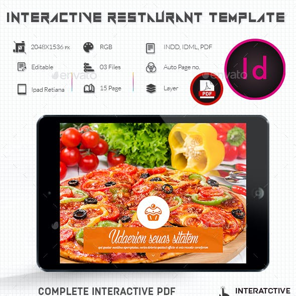 Interactive Restaurant Template