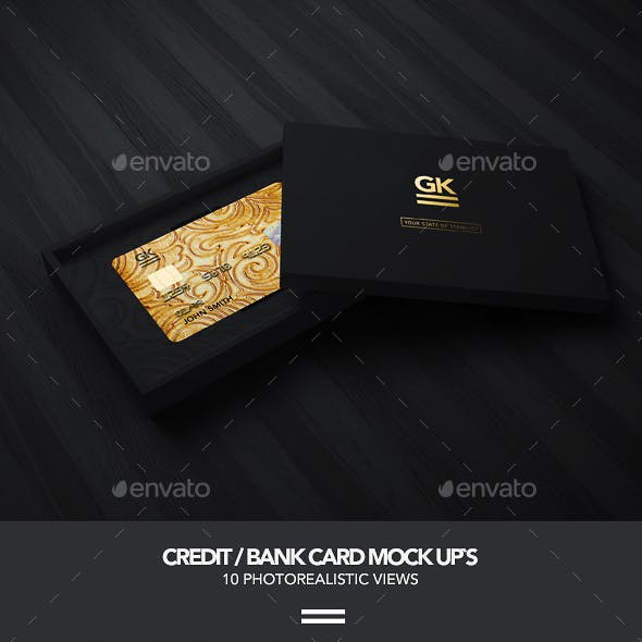 Bank / Credit Card Mock-up