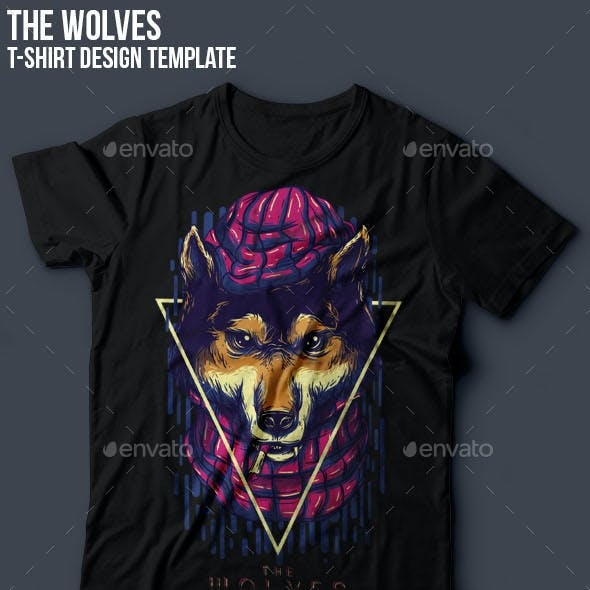 The Wolves Part III T-Shirt Design