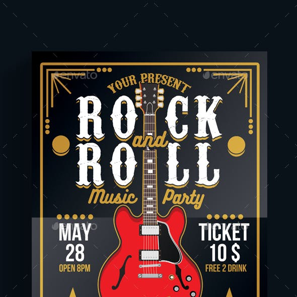 Rock and Roll Music Party