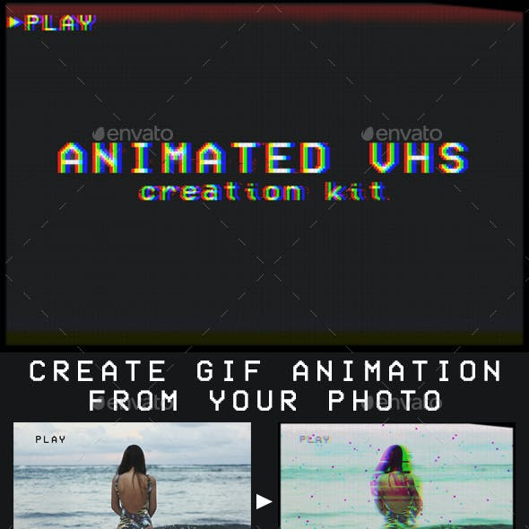 Animated VHS Creation Kit