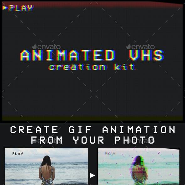 Animated VHS Creation Kit