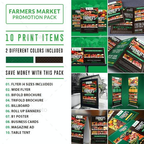 Farmer's Market Print Promotion Bundle Pack