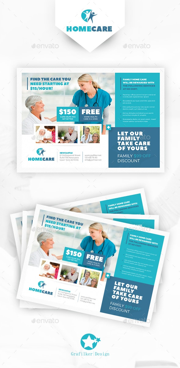 Home Health Care Flyer Templates - Corporate Flyers