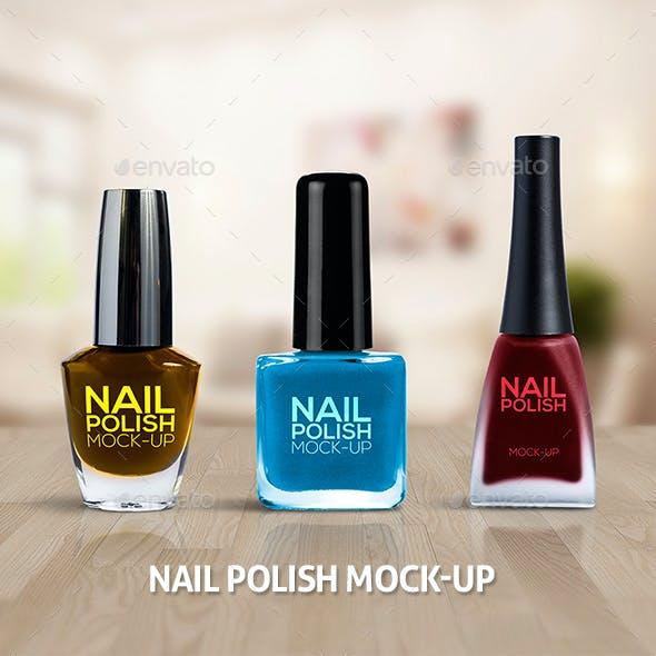 Nail Polish Mockups