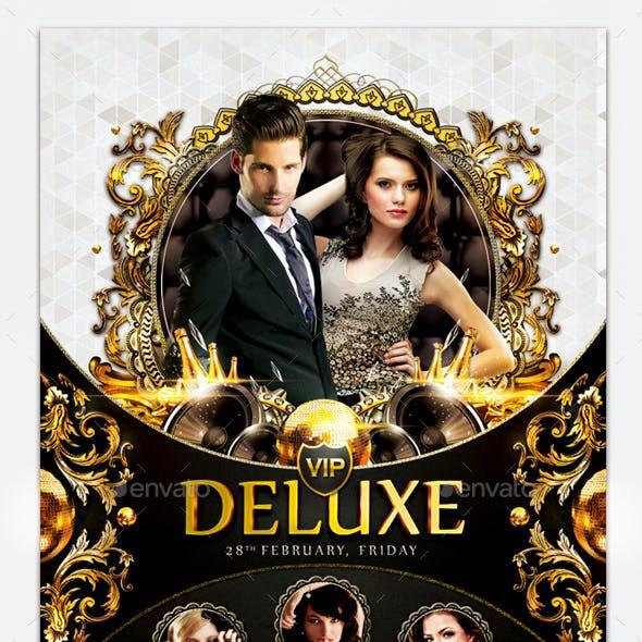 Elegante & Deluxe Flyer Template