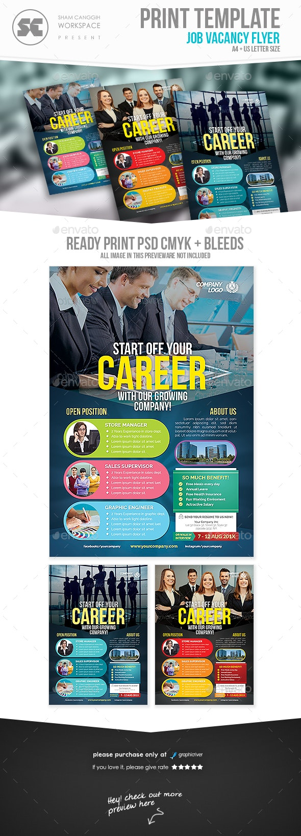 Job Vacancy Flyer - Corporate Flyers