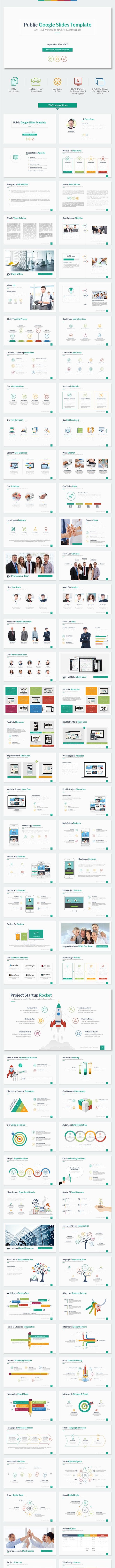 Public - Multipurpose Google Slides Template - Google Slides Presentation Templates