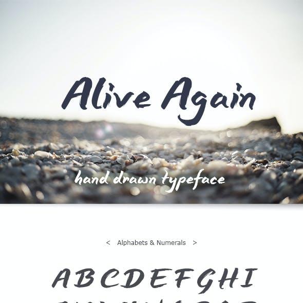 Alive Again Font