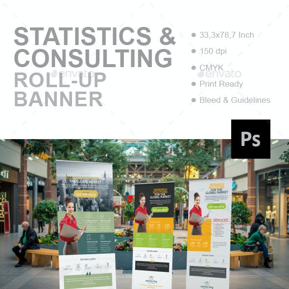 Statistics And Consulting Roll-Up Banner