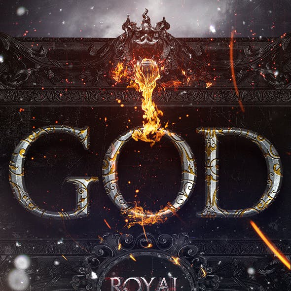 Royal Photoshop Text FX Vol 03