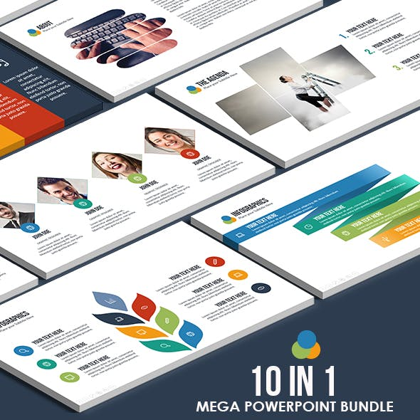 10 IN 1 - Mega Powerpoint Bundle