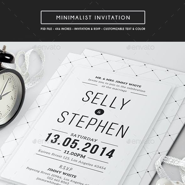 Minimalist Invitation