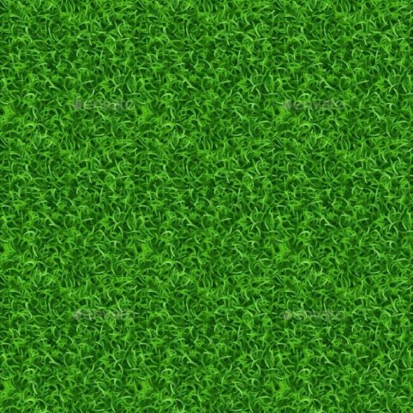 Seamless Grass Vector Texture
