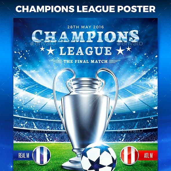 Football Champions League Poster vol.2