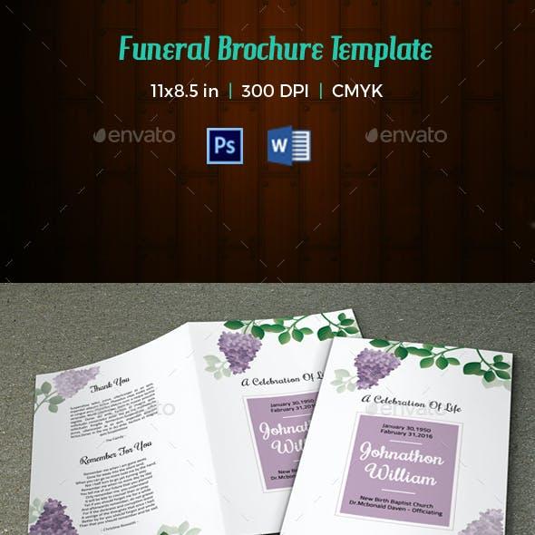 Funeral Program Template-V62