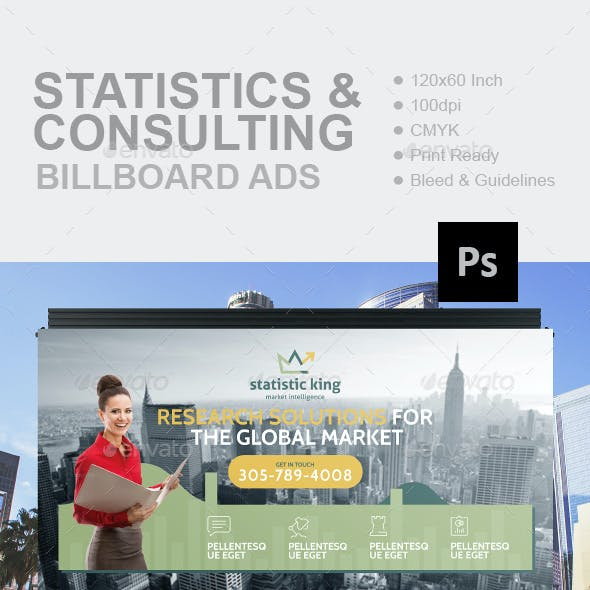 Statistics And Consulting Billboard