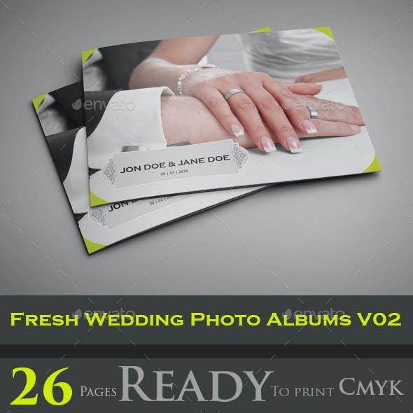 Fresh Wedding Photo Albums V02