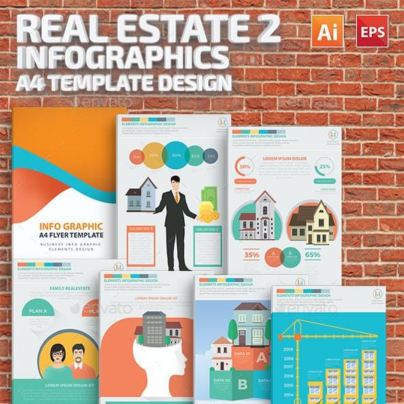 Real estate 2 infographic Design
