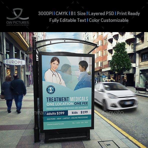 Medical Poster Template Vol.2
