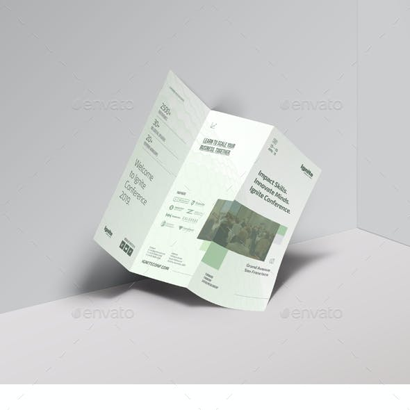 Business Conference Tri-fold Brochure