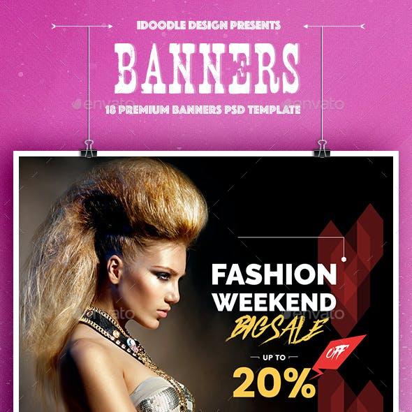 Fashion Banners Ads