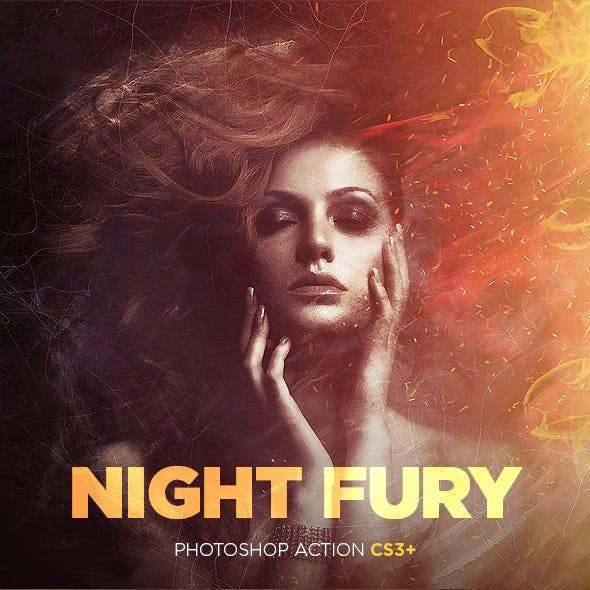 Night Fury Photoshop Action CS3+