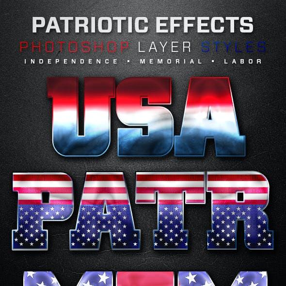 Patriotic Layer Styles 2