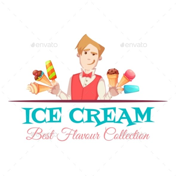 Ice Cream Vendor with Best Flavour Collection