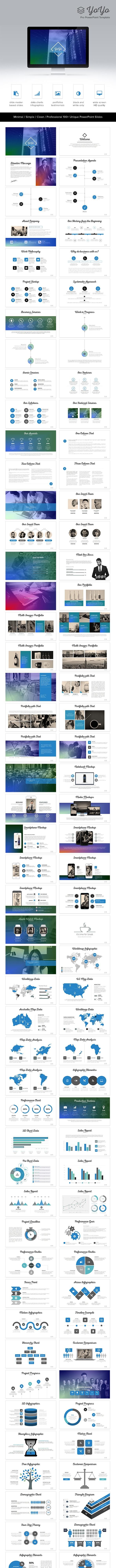 YoYo PowerPoint Template - PowerPoint Templates Presentation Templates