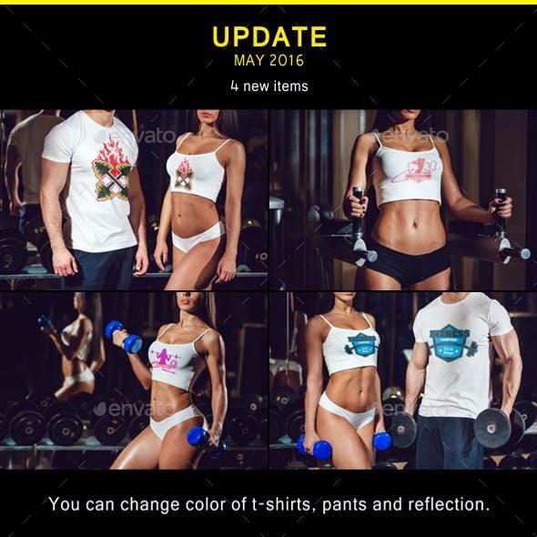 Sport T-Shirt Mock-Up