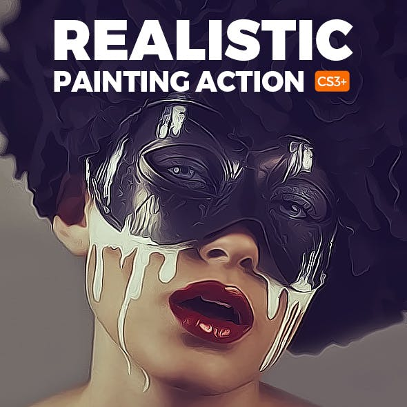 Realistic Painting Action