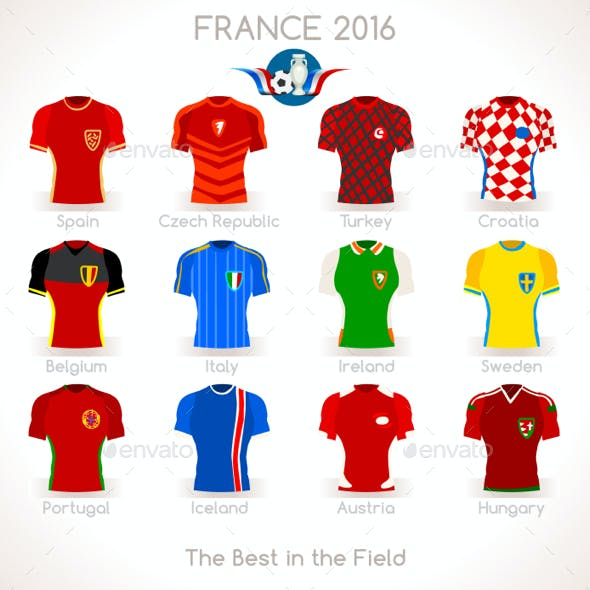France EURO 2016 Apparel Icons