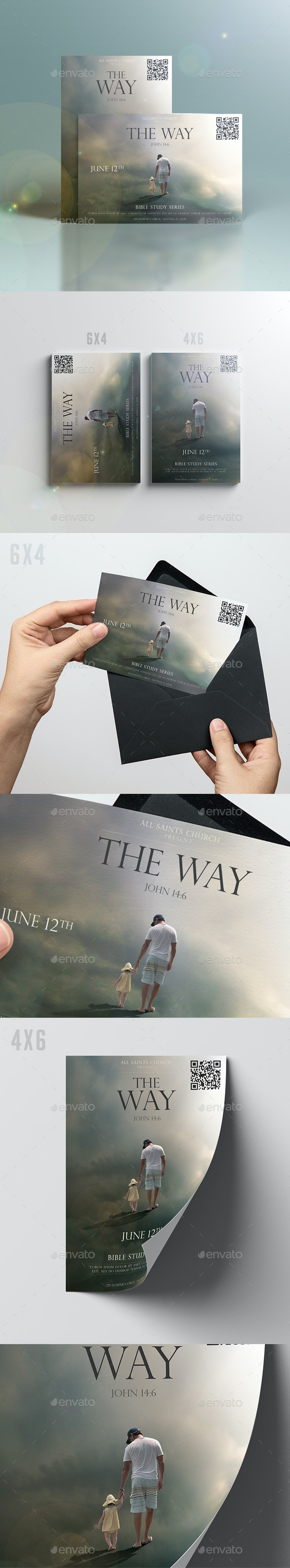 The Way - Church Flyers