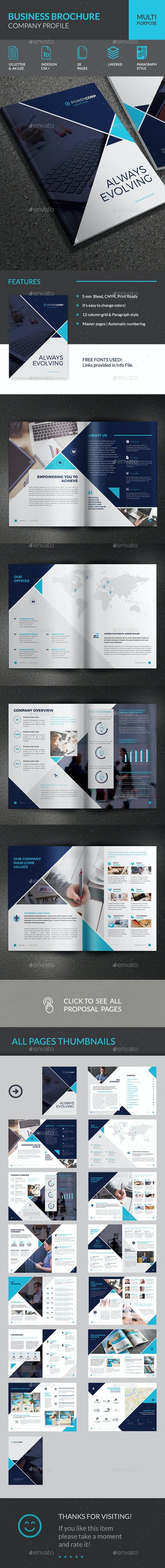 PowerCorp Business Brochure - Corporate Profile - Corporate Brochures
