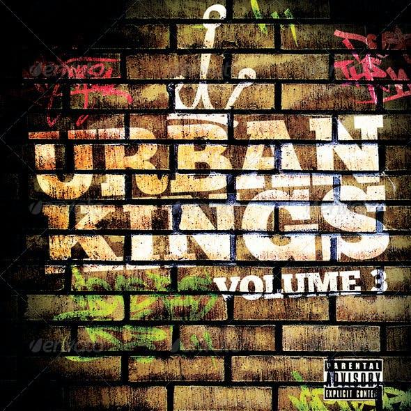 Urban Kings Volume 3 Mixtape of Flyer Template