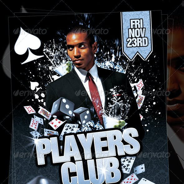 Players Club Flyer Template