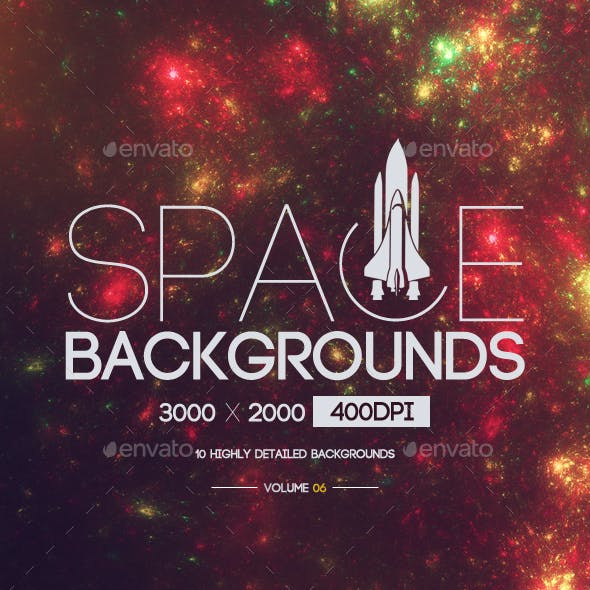 Space Backgrounds [Vol.6]